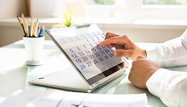 Calendário das Reuniões